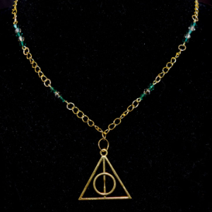 Harry Potter - Deathly Hallows Necklace - Bronze